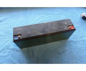 Baterka 6-DMZ-25 Rozmer 320x80x116 12V-25Ah  9kg Olovena