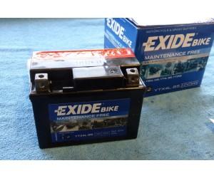 Baterka aku gelova EXIDE bike 12V3Ah Pro ATV CROSS 50cc-125cc