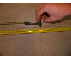 Hadice brzdova - vedeni delka cca 120 cm