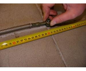 Hadice brzdova - vedeni delka cca 90cm