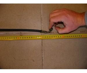 Hadice brzdova - vedeni delka cca 95 cm 90 stupnu
