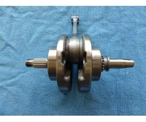 Klika pro motor cep 15mm delka ojnice 140mm lozisko 68mm