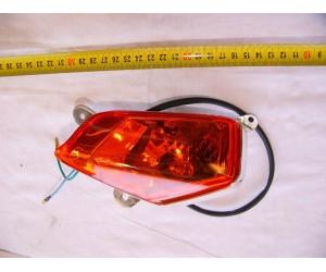 levý přední blinkr Linhai 300 Sport XYST260 - oranžový