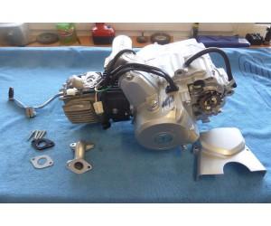 motor 110 cc (107cc) 4T s automatem a zpateckou 6kw