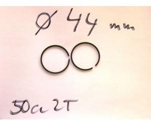 sada pistnich krouzku prumer 44  - pistni krouzky kruhy  Minibike CX-27 KaTM 49cc 2T