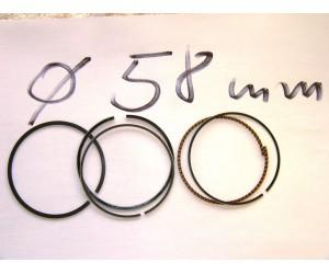 sada pistnich krouzku prumer 58  - pistni krouzky kruhy