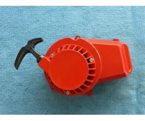 startovadlo hlinikove pro minibike minicross a ktm cervene