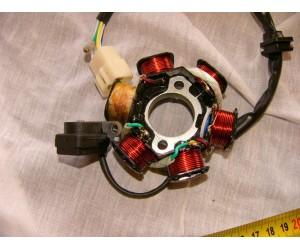 stator - zapalko - alternator 12V pro motory 50-80-110-125