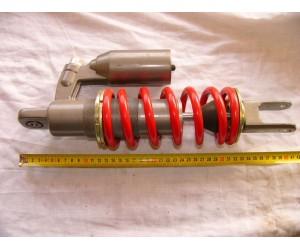 Tlumič vzduchokapalinovy se zasobnikem delka cca 40cm prumer oka 1cm stavitelny sila 11mm