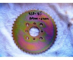 zadni rozeta pro retez 428 45 zubu - Bashan BS250-11A stary typ