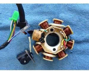 Zapalovani stator pro motory 125-150cc variator osum civek pet dratu